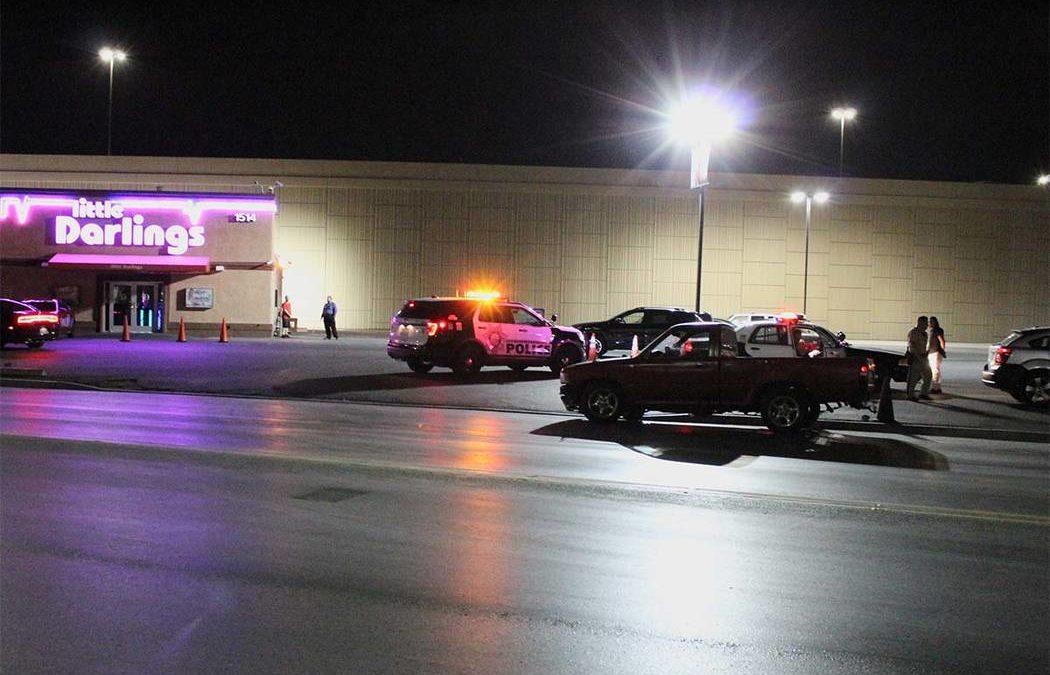 Truck crashes into Las Vegas strip club, impairment suspected